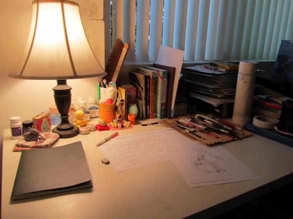 The Studio at night.