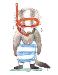 Badger Swim maiskemble©2016