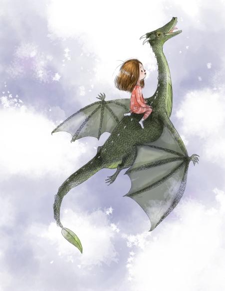 Dragon Flight at Night