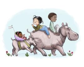 Hippo Walk